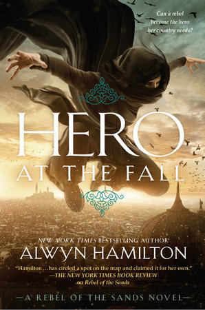 The cover of the book Hero at the Fall