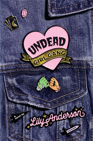 The cover of the book Undead Girl Gang