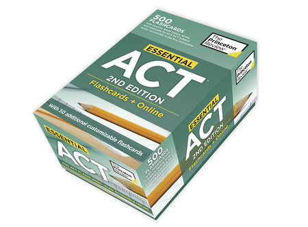 Essential ACT, 2nd Edition: Flashcards + Online by Princeton Review