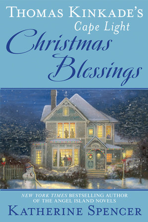 The cover of the book Thomas Kinkade's Cape Light: Christmas Blessings