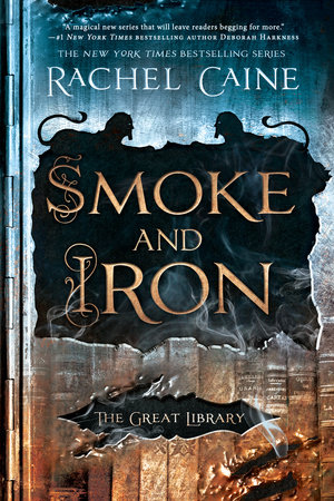 The cover of the book Smoke and Iron