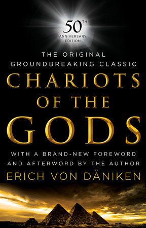 The cover of the book Chariots of the Gods