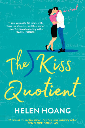 The cover of the book The Kiss Quotient