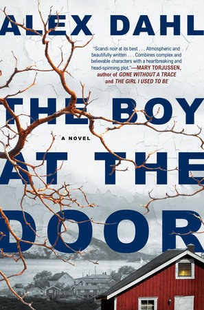 The cover of the book The Boy at the Door