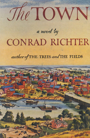RICHTER THE TOWN Book Cover Picture