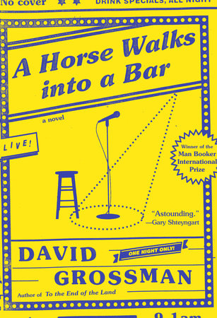 The cover of the book A Horse Walks into a Bar