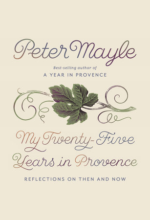 The cover of the book My Twenty-Five Years in Provence