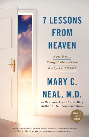 The cover of the book 7 Lessons from Heaven