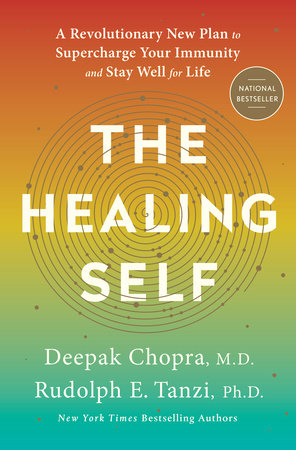 The cover of the book The Healing Self