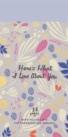 Here's What I Love About You by Potter