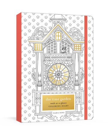 The Time Garden Week-at-a-Glance Coloring Diary by Daria Song