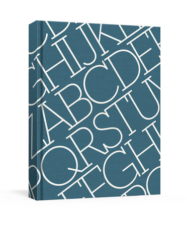 House Industries Indigo Linen Journal by House Industries