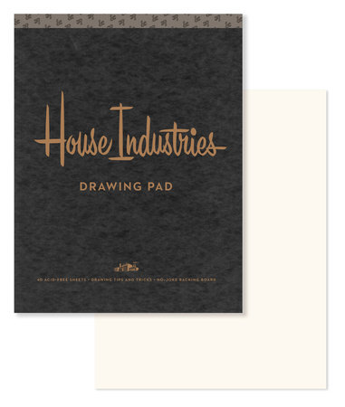 House Industries Sketch Paper by House Industries