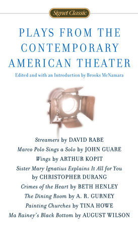 Plays from the Contemporary American Theater by