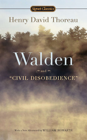 The cover of the book Walden and Civil Disobedience