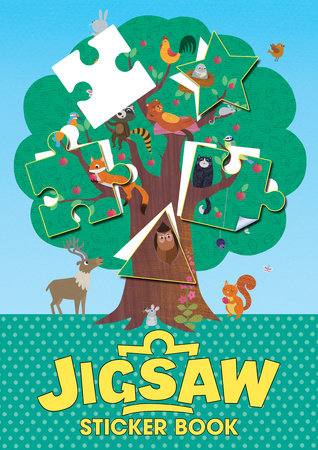 Jigsaw Sticker Book by