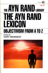 The Ayn Rand Lexicon