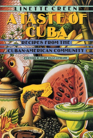 The cover of the book A Taste of Cuba