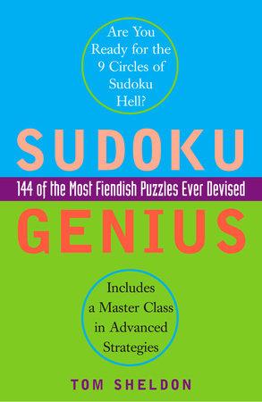 Sudoku Genius by Tom Sheldon