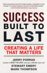 Success Built to Last