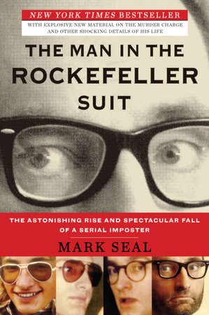 The cover of the book The Man in the Rockefeller Suit