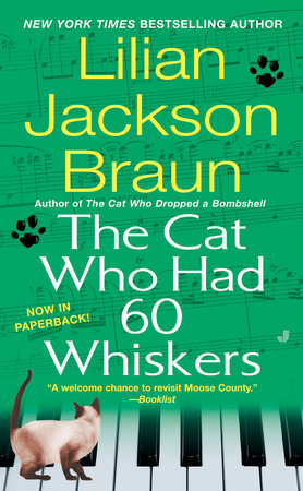 The Cat Who Had 60 Whiskers Book Cover Picture