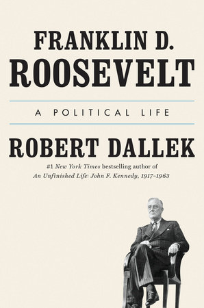 The cover of the book Franklin D. Roosevelt
