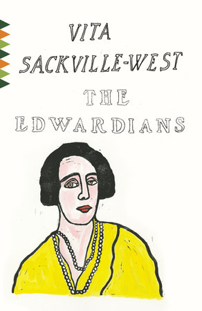 The cover of the book The Edwardians