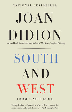 The cover of the book South and West