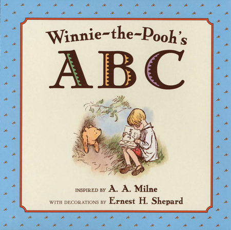 Winnie-The-Pooh's ABC  Book by A. A. Milne