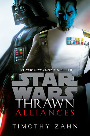 The cover of the book Thrawn: Alliances (Star Wars)