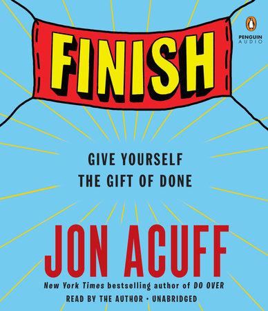 Finish by Jon Acuff