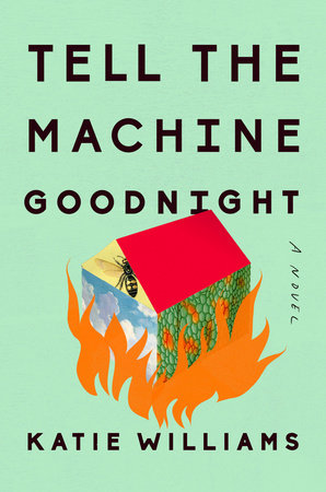 The cover of the book Tell the Machine Goodnight