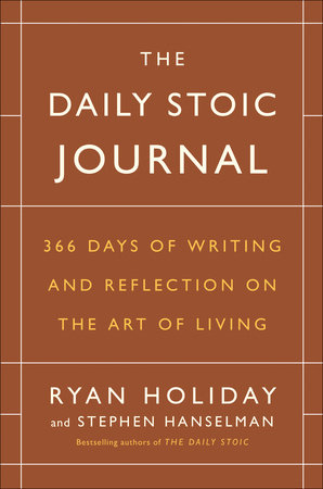 The cover of the book The Daily Stoic Journal