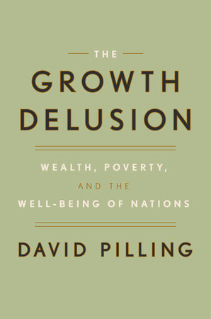 The cover of the book The Growth Delusion