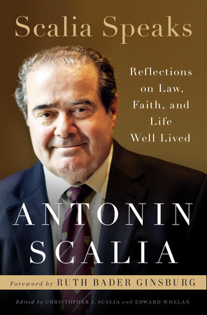 The cover of the book Scalia Speaks