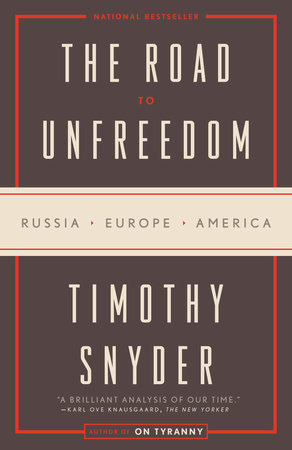 The Origins of Unfreedom by Timothy Snyder