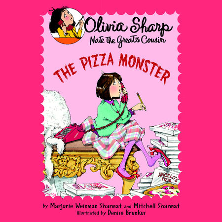The Pizza Monster by Marjorie Weinman Sharmat and Mitchell Sharmat