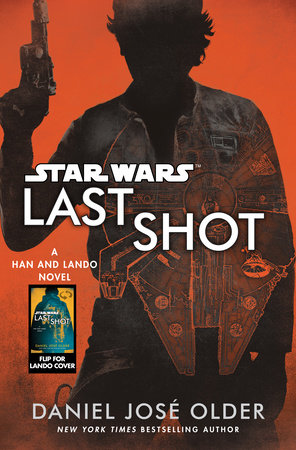 The cover of the book Last Shot (Star Wars)