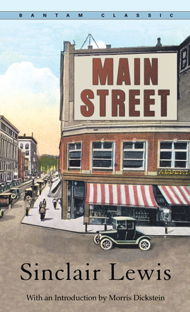 The cover of the book Main Street