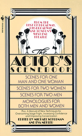 The Actor's Scenebook by Michael Schulman, Ph.D. and Eva Mekler