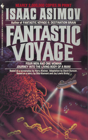 The cover of the book FANTASTIC VOYAGE