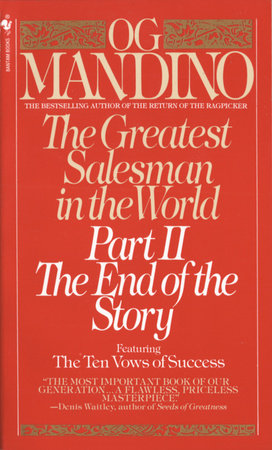 The Greatest Salesman in the World, Part II by Og Mandino