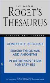 The Bantam Roget's Thesaurus