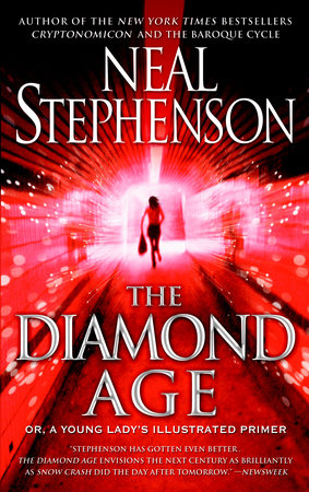 The cover of the book The Diamond Age