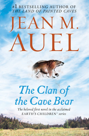 The cover of the book The Clan of the Cave Bear