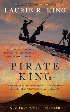 Pirate King (with bonus short story Beekeeping for Beginners) by Laurie R. King