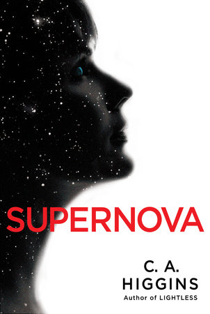 Cover art for the book Supernova by C. A. Higgins