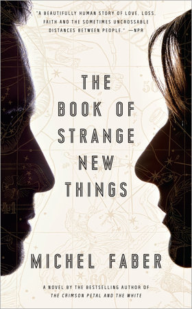 The cover of the book The Book of Strange New Things