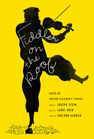FIDDLER ON THE ROOF Book Cover Picture